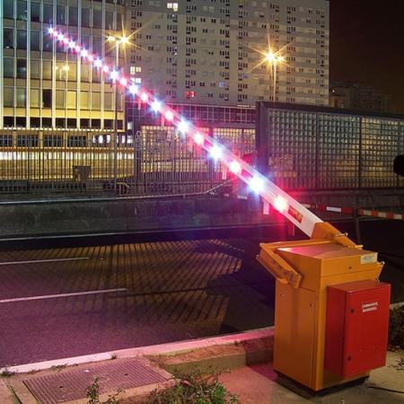 Long range barriers