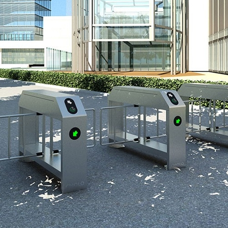 Pedestrian/Cyclist Shared Outdoor Turnstile Gate IPW-PM1000