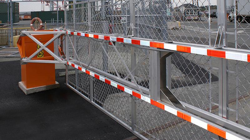Fenced barriers