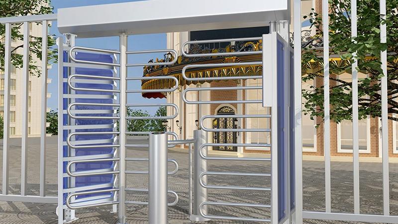 Pedestrian/Cyclist Shared Full Height Turnstile CPW-251AB02