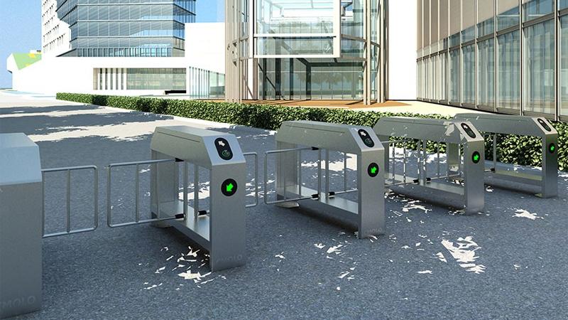 Pedestrian/Cyclist Shared Outdoor Turnstile Gate IPW-PM1000